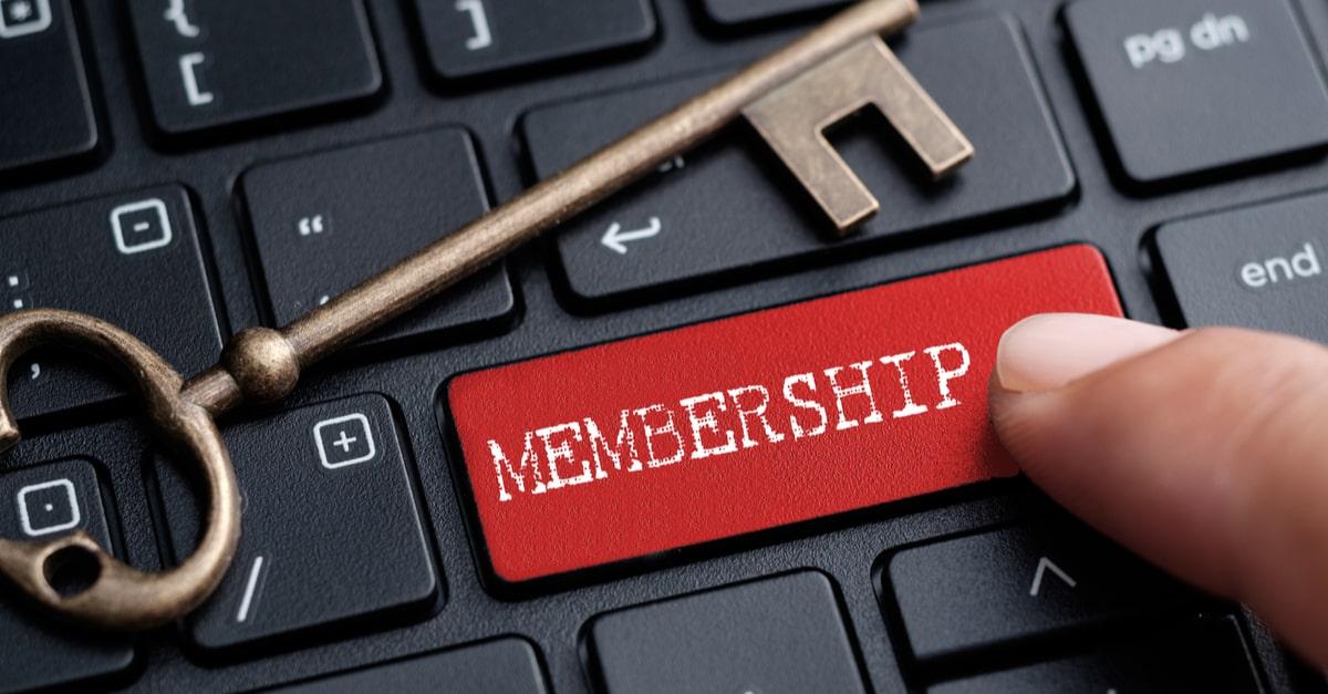 Mitgliederbereich erstellen