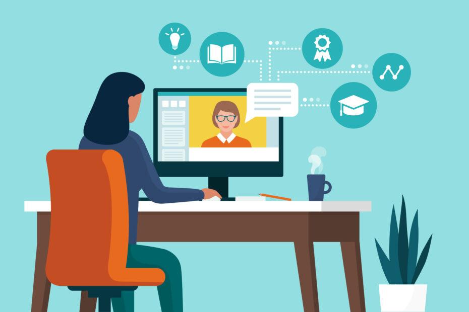 Online Wissen vermitteln